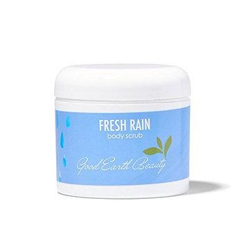 Body Scrub Fresh Rain - all natural sugar scrub by Good Earth Beauty 4 ounce Jar