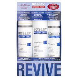 Bosley Professional Strength Bos Revive Holiday Pack for Non Color-Treated Hair 3 piece