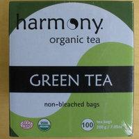 Harmony Organic Tea - Green Tea - Non-Bleached Bags, 100 Tea Bags, 200 g / 7.05 oz