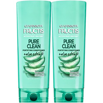 Garnier Hair Care Fructis Pure Clean Conditioner, 12 Fluid Ounce (Packaging May Vary), 2 Count