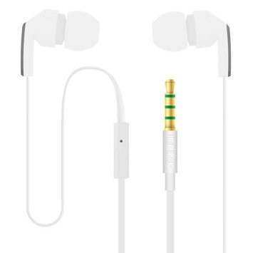 Incipio Incipio NX-301 F80 Earbud Headset W/ Mic 3.5mmaccs 1.2m Wht/gray