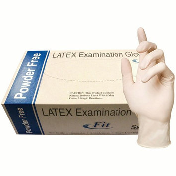 Skintx Fit Medical Grade Latex Disposable Gloves, 90000FIT-XS-BX, (Pack of 100)