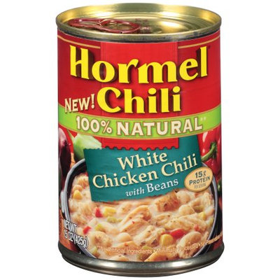 HORMEL NATURAL WHITE CHICKEN CHLI WITH BEANS 15 oz