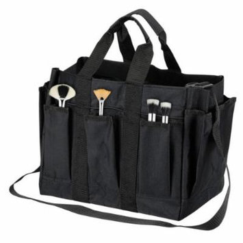 Seya Large Fabric Location Bag w/ External Pouches (All Black)