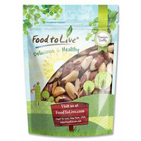 Food to Live BRAZIL NUTS (Whole, Shelled, Raw, Unsalted, Natural) (1 Pound)