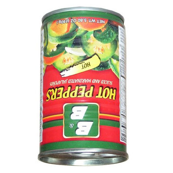 B & B ByB Jalapeno Pepper 48x5.8 oz. - ByB Chile Jalape ±o 5.8 oz (Pack of 12)