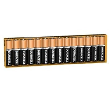 Duracell 80226938 CopperTop Alkaline-Manganese Dioxide Battery with Duralock Power Preserve Technology, AA Size, 1.5V, (Pack of 14)
