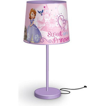 Idea Nuova Disney Sofia the First Table Lamp, Pink