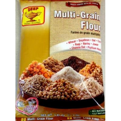 Deep Multi Grain Flour - All Natural / 4lb., Indian Groceries