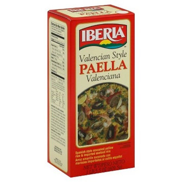 Iberia World Foods Rice, Paella Valenciana, 21.50-Ounce (Pack of 6)