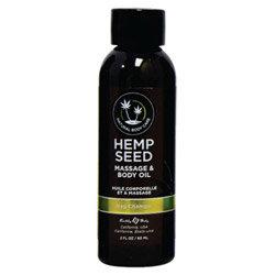 Earthly Body Massage & Body Oil - 2 Oz Nag Champa