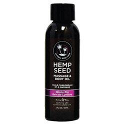 Earthly Body Massage & Body Oil - 2 Oz Skinny Dip