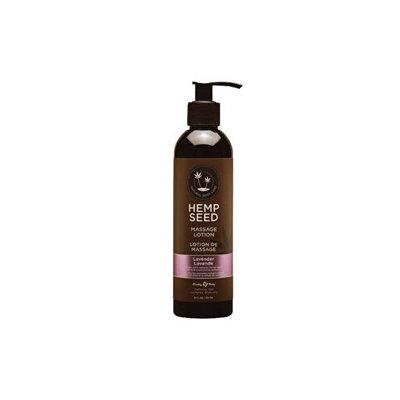 Earthly Body Hemp Seed Massage Lotion 8oz/237mL in Lavender - ML017