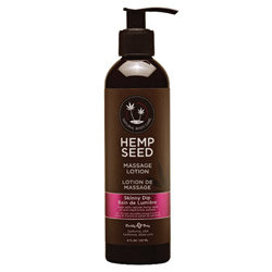Earthly Body Hemp Seed Massage Lotion 8oz/237mL in Skinny Dip - ML021