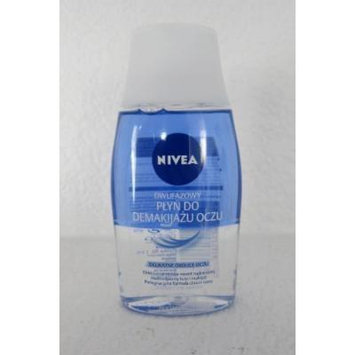 NIVEA Double Phase Eye Make-up remover 125 ml-IMPORTED from EUROPE-SHIPPING from USA
