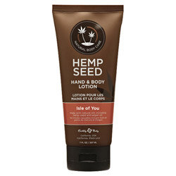 Earthly Body Hemp Seed Hand & Body Lotion 7oz/207mL in Isle of You - HSV052T