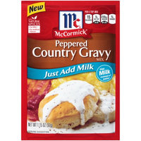 McCormick® Country Gravy Peppered Just Add Milk