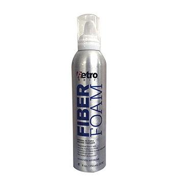 Retro Hair Fiber Foam Texture Mousse 8.0 Ounce