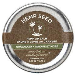 Earthly Body Hemp Seed Skin Care Hemp Lip Balm 0.45oz/12.75g in Guavalava - HSL568T