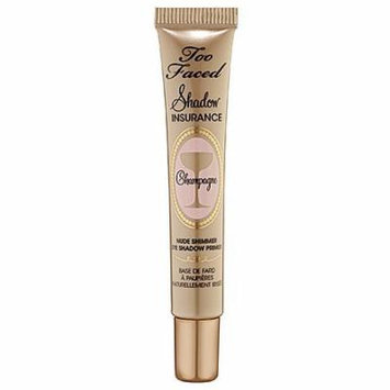 Too Faced Shadow Insurance Champagne Nude Shimmer Eye Shadow Primer for Women, 0.35 Ounce