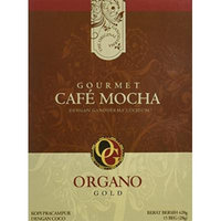 2 Boxes of Organo Gold Ganoderma Gourmet - Gourmet Cafe Mocha (15 sachets per box)