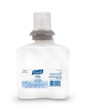 Purell Advanced Hand Sanitizer 1200 mL Alcohol (Ethyl) Gel Dispenser Refill Bottle, Case of 4, 2 Pack (8 Total)