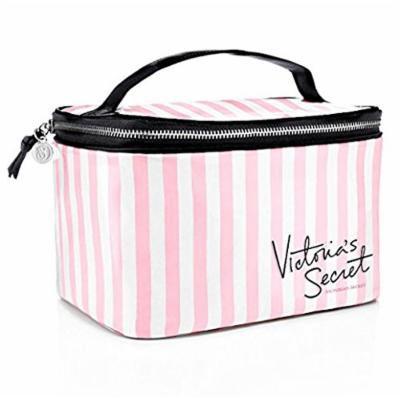 Victoria's Secret Pink And White Stripe Train Case