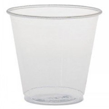Solo TK35 3.5 oz Clear Plastic Cup (Case of 2500)