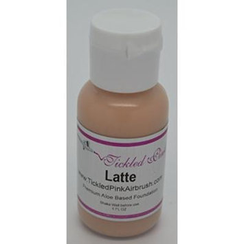 Tickled Pink Airbrush Aloe Foundation - Latte (2OZ)