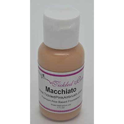 Tickled Pink Airbrush Aloe Foundation - Macchiato (2OZ)