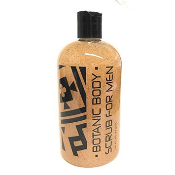 Greenwich Bay Exfoliating Body Wash, Enriched with Shea Butter, Blended with Loofah and Apricot Seed 16 oz (Men's)