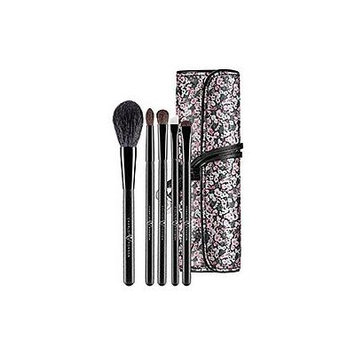 Charlotte Ronson 6-Piece Travel Paint Me Pretty Travel Brush Set, NEW!