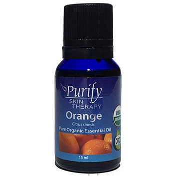Orange Sweet Essential Oil Organic, 100% Pure 15ml