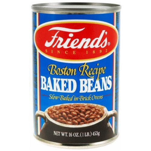 Friends Baked Beans, Boston Recipe, 16 Ounce (Pack of 24)