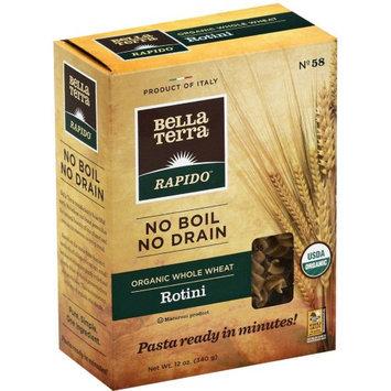 BELLA TERRA 270387 12 oz. Pasta Whole Wheat Rot No Boil