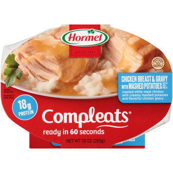 (6 Packs) Hormel Compleats Chicken Breast & Gravy With Mashed Potatoes, 10 oz - $0.20/oz
