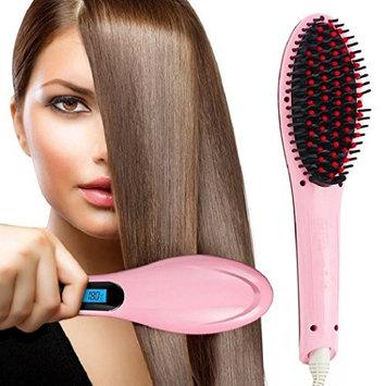 Medex 3 in 1 Salon Grade Professional Hair Straightener, RC Electric Hair Straightening Brush Ceramic Hair Brush