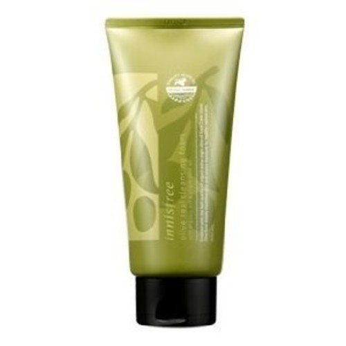 Innisfree Olive Real Cleansing Foam with Organic Extra Virgin Olive Oil, 1.6 Ounce