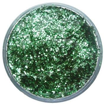 Snazaroo 1115444 Face Paint 12ml Face - Body Glitter Gel, Bright Green