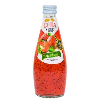 Mw Polar Vita Food Chia Seed Drink Strawberry Flavor 9.6oz.