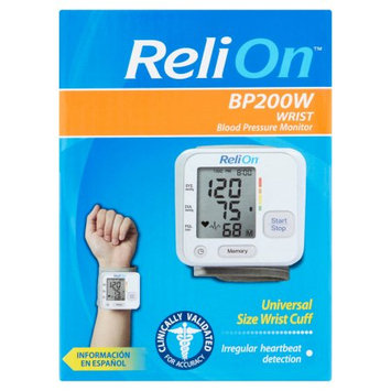 Microlife Usa Inc ReliOn Wrist Blood Pressure Monitor, BP200W