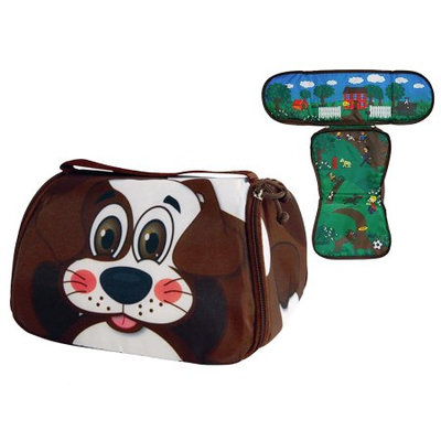 Snack Pets Freezable Insulated Gel Lunch Box & Placemat Cold Kids Food Container Bag Saver Dog