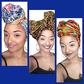 Adaku African Headwrap collection (3 Headwraps)