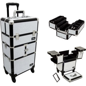Just Case Trolley Makeup Case Color: Pink