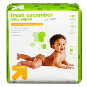 Cucumber Baby Wipes, 216 ct - up & up™