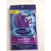 Noxzema Twin Blade Pivot Razor with Aloe & Vitamin E , 7 count (Pack of 3)