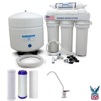 Premier Reverse Osmosis Water Filter System PH neutral 5 stage