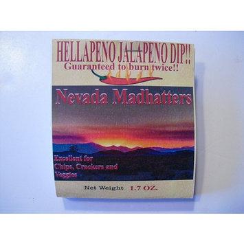 Nevada Madhatters 1.7 Oz. Hellapeno Jalapeno Dip