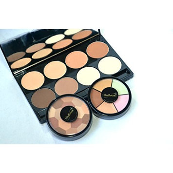 Professional Red Carpet-Ready Corrective & Contour Palette Kit - High-Pigment, Defining Make-up Set by ShaBoom Beauty