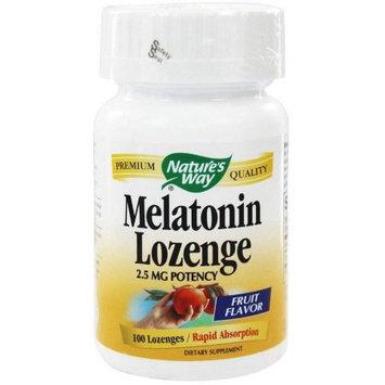Natures Way Melatonin 2.5 Mg, 100TB